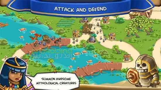 دانلود Empires of Sand TD 3.53 بازی انلاین امپراطوری ماسه اندروید 4