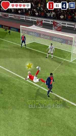 دانلود Score! Hero 1.66 بازی فوتبالی گل بزن قهرمان اندروید 2