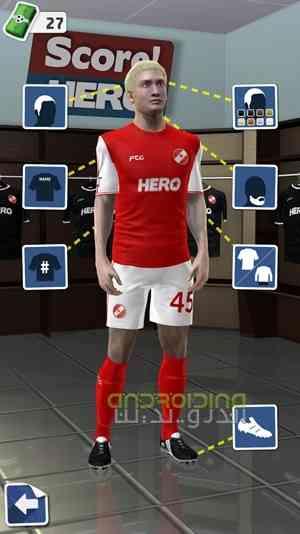 دانلود Score! Hero 1.66 بازی فوتبالی گل بزن قهرمان اندروید 3