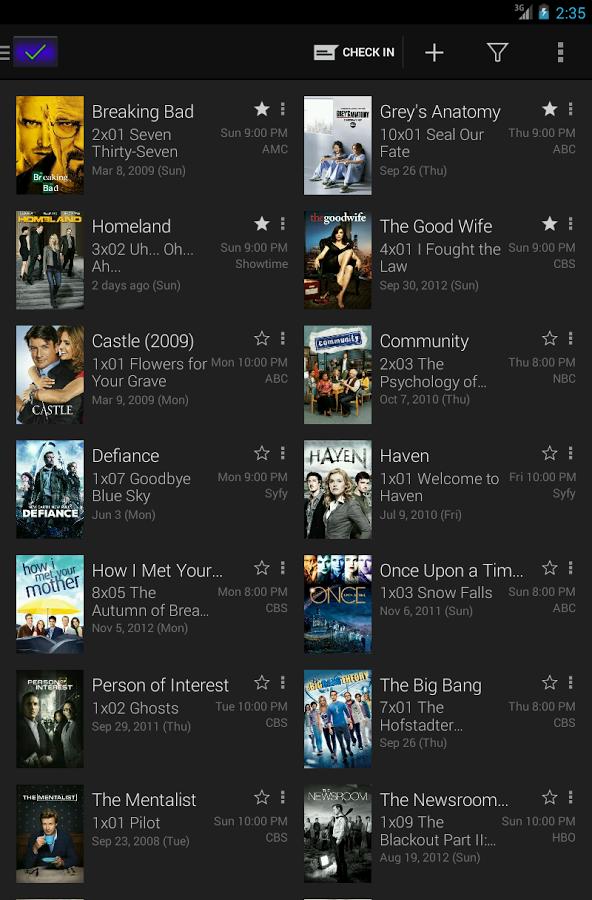 همه چیز درباره سریال های تلویزیونی با SeriesGuide v9 Premium 1