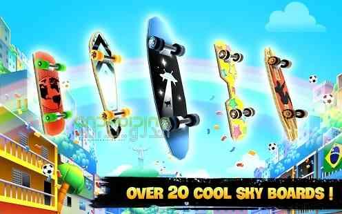 دانلود Skyline Skaters 2.16.0 بازی اسکیت بازان افق اندروید 2