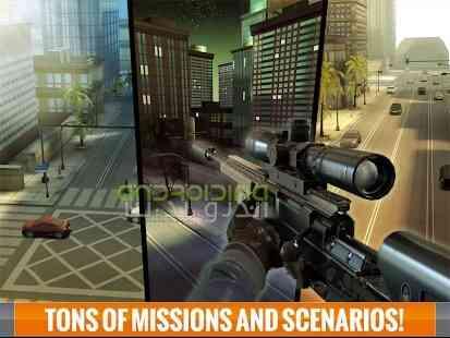 دانلود Sniper 3D Assassin 1.17.4 بازی قاتل اسنایپری اندروید 4