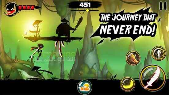 دانلود Stickman Revenge 3 1.0.22 بازی انتقام آدمک 3 اندروید 4