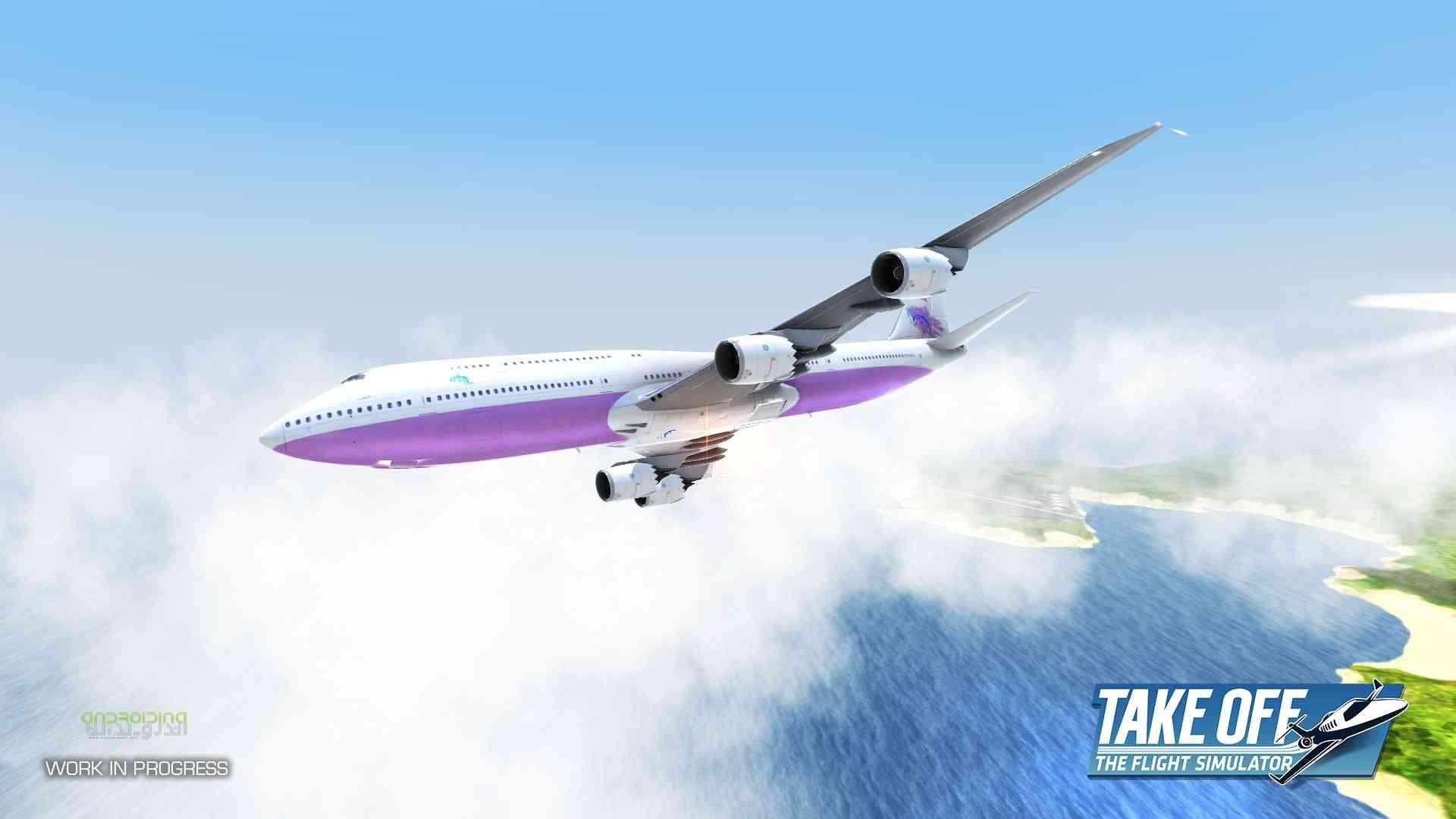 Take Off The Flight Simulator – شبیه سازی هواپیما