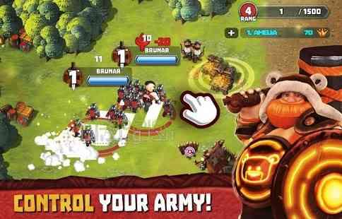 دانلود Tiny Armies Clash Arena 3.4.2 بازی انلاین ارتش های کوچک، نبرد ها 2