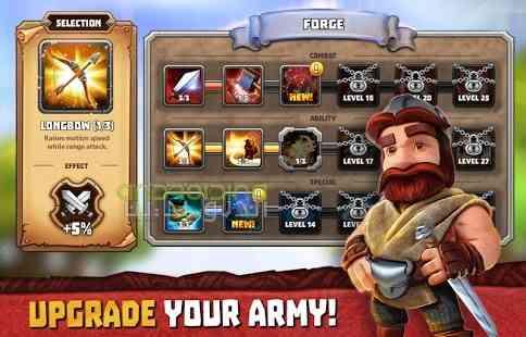 دانلود Tiny Armies Clash Arena 3.4.2 بازی انلاین ارتش های کوچک، نبرد ها 3