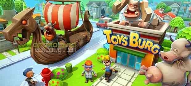 Toysburg – ساخت اسباب بازی