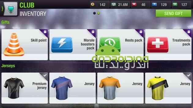 دانلود Top Eleven Be a Soccer Manager 5.3 بازی بهترین یازده تا، یک مربی فوتبال باش اندروید 3