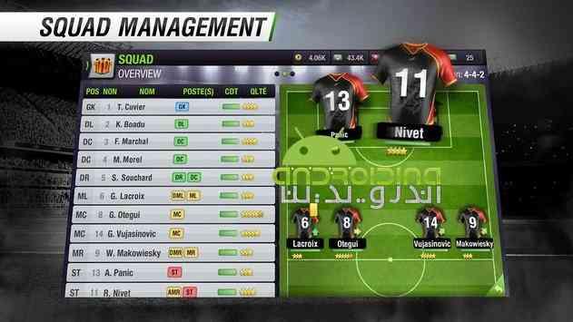 دانلود Top Eleven Be a Soccer Manager 5.3 بازی بهترین یازده تا، یک مربی فوتبال باش اندروید 4