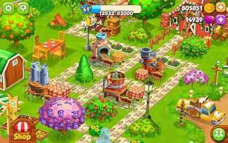 دانلود Top Farm 40.0.4887 بازی انلاین بهترین مزرعه اندروید 2