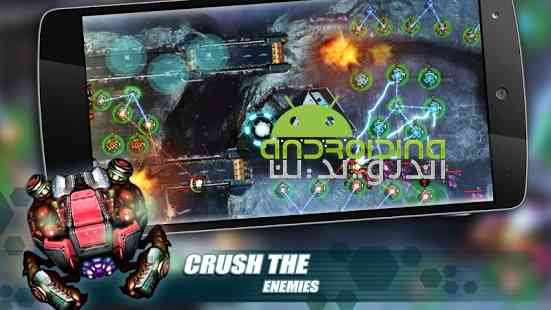 دانلود Tower Defense Invasion 1.12 بازی حمله، برج دفاعی اندروید 4