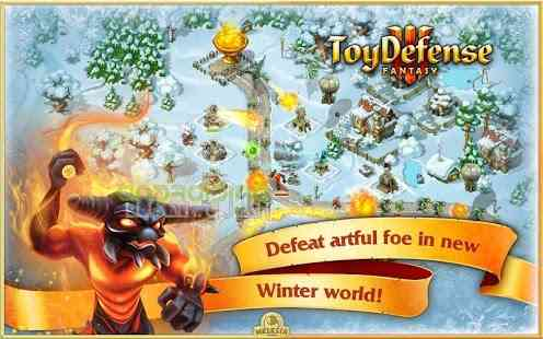 Toy Defense Fantasy Towers – دفاع اسباب بازی برج های فانتزی