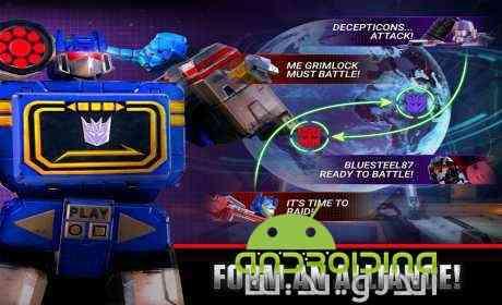دانلود Transformers Earth Wars 1.48.0.18424 بازی انلاین تبدیل شوندگان، جنگ های زمین 3