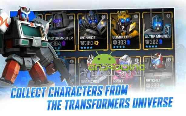 دانلود TRANSFORMERS Forged to Fight 2.1.0 بازی انلاین تبدیل شوندگان اندروید 2