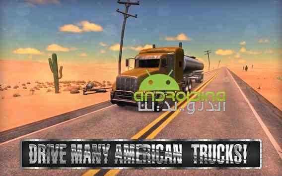 Truck Simulator USA – شبیه ساز کامیون آمریکا اندروید