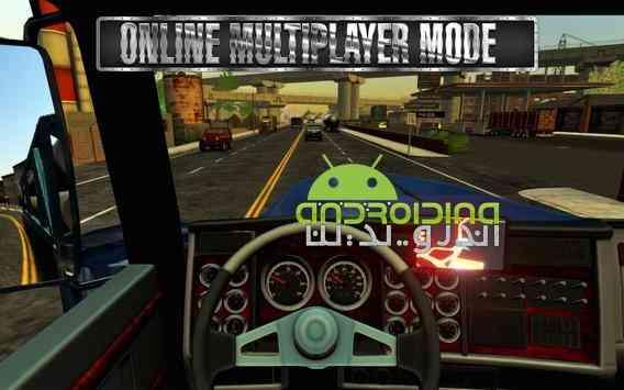 دانلود Truck Simulator USA 2.0.0 بازی شبیه ساز کامیون آمریکا اندروید + دیتا 2