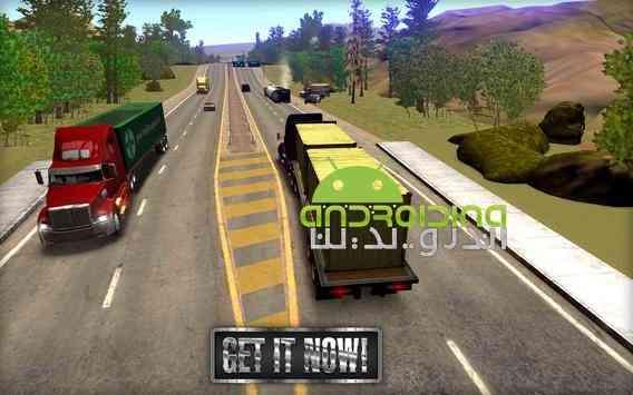 دانلود Truck Simulator USA 2.0.0 بازی شبیه ساز کامیون آمریکا اندروید + دیتا 3