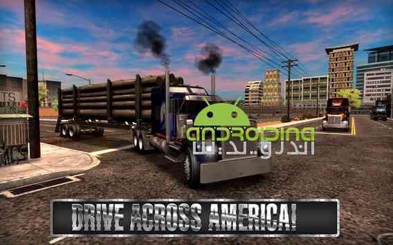 دانلود Truck Simulator USA 2.0.0 بازی شبیه ساز کامیون آمریکا اندروید + دیتا 4