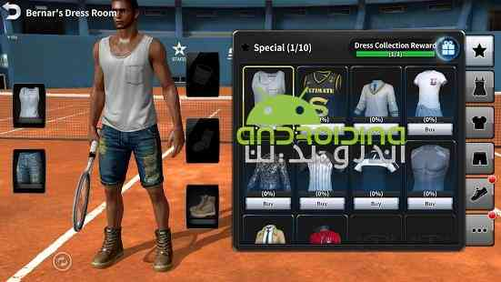 Ultimate Tennis – مسابقات نهایی تنیس اندروید