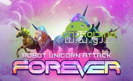 Robot Unicorn Attack 3 – حمله ربات تک شاخ 3 اندروید