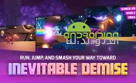 دانلود Robot Unicorn Attack 3 1.0.2 بازی حمله ربات تک شاخ 3 اندروید + دیتا 2