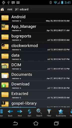 دانلود Root Browser (File Manager) 3.3.5.0 فایل منیجر روت اندروید 1