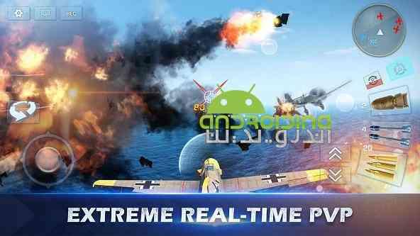 دانلود War Wings 3.0.41 بازی انلاین بال های جنگ اندروید + دیتا 3