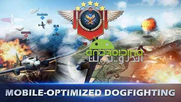 دانلود War Wings 3.0.41 بازی انلاین بال های جنگ اندروید + دیتا 4