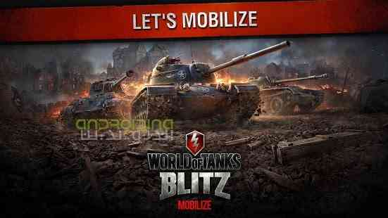 World of Tanks Blitz – دنیای تانک های رعدآسا